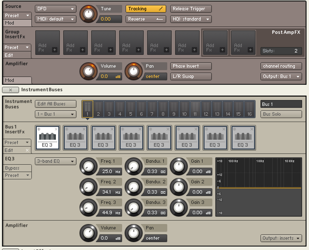 New Features in Kontakt 5 - ADSR