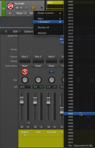 Using Smart Controls in Logic Pro X to Automate Kontakt - ADSR