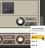 Add Reverb to an Instrument using Aux Channels - ADSR