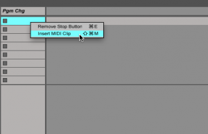 Trigger Clips in Ableton Live to Switch Between Instruments in an Instrument Bank - ADSR
